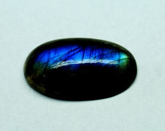 60% OFF - 25x14x6 mm Labradorite Cabochon Gemstones Blue Labradorite Gems (Z-50)