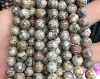 8mm Natural Jasper Beads, Chinese Jasper Gemstone Beads, Loose Stone Beads, Round Jasper Beads Wholesae, 15''