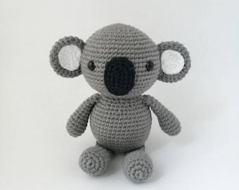 PDF PATTERN: Koala Amigurumi, Crochet Koala, Koala Toy, Koala Doll, Koala Plushie