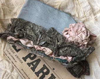 This Antique Silk Ribbon Vaudeville Bonnet Is A True Wonder