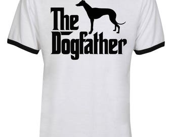 The Dogfather Greyhound Shirt - The Dog Father Greyhound Shirt - Greyhound  Dog Shirt - Dog