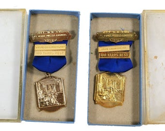 1972-73 Ft. Osage Muzzle Loading Medals