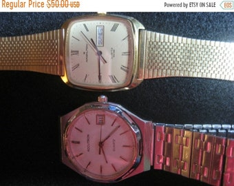 ON SALE Up for sale 2 watches Bulova Accutron and Hamilton