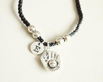 Baseball gifts, Baseball bracelet, Softball Bracelet, Softball Gift, Baseball Jewelry, Baseball Glove, Sports, Team, Baseball Mom, Boyfriend
