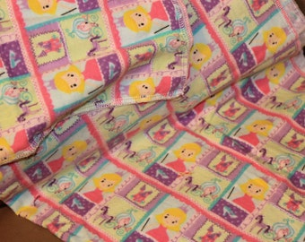 Princess Flannel Stroller Blanket