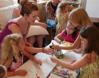 Four Art Lessons for Kids Aged 5+