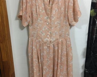 Pink Sheet Midi Summer Dress