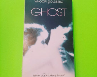 Ghost - Patrick Swayze Demi Moore Whoopi Goldberg 80s 90s supernatural romantic comedy mystery thriller eighties nineties VHS video tape