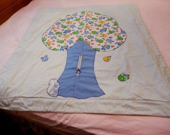 Cute Baby Blanket with zipper pocket