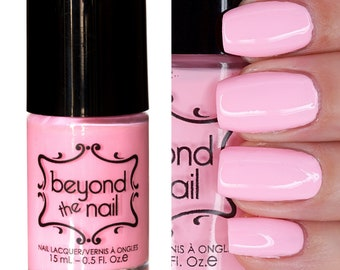 Blazing Blush Nail Polish - Soft Neon UV Reactive