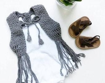 TODDLER — Grey Lorelei Vest