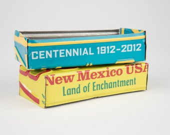 New Mexico license plate box - father's day gift - gift for mom's dad's and grad's - teacher gift - graduation gift - graduation gift box