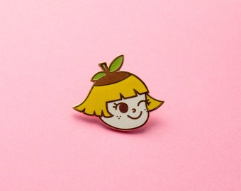 Lemon Girl Pin