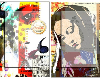 Virgin Mary 2..... A4 digital download collage sheet...