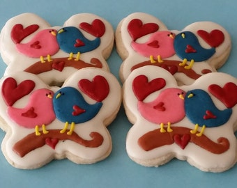 Love Birds, Valentine's day, Anniversary favors, Party favors