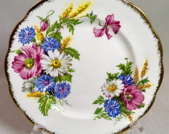 Royal Albert Harvest Bouquet Bread and Butter Plate