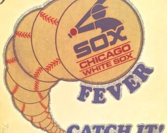 Chicago White Sox Vintage Iron On Heat Transfer