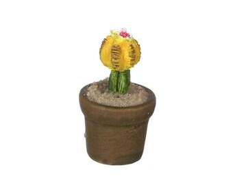 Dollhouse Miniature Cactus