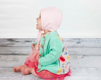 Light Pink Modern Bonnet