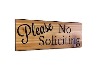 No soliciting sign no soliciting no solicitation fron door sign door sign do not disturb sign no solicitors