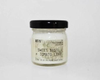Sweet Basil + Tomato Leaf, Mini 1.25 oz, Scent Soy Candle