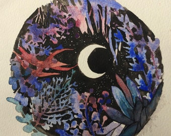 Water Moon (Red, Purple, Blue Foliage)