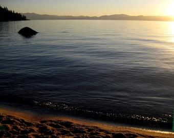 An Evening At Lake Tahoe 8.5 x 11 Print
