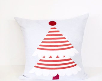 Holiday Pillow, Christmas Pillow, Christmas Tree Pillow, Christmas Decor, Christmas Throw Pillow, Holiday, Throw Pillow, Kids Pillow