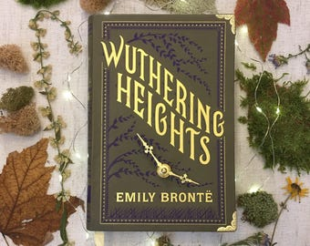 Book Clock Wuthering Heights//Wuthering Heights gift
