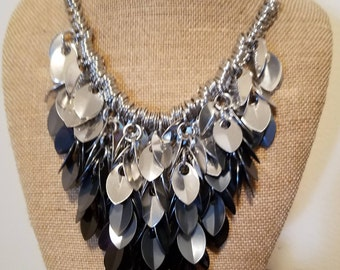 Shaggy Scales Necklace