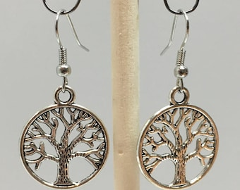 Two Sided Tree Of Life Earrings