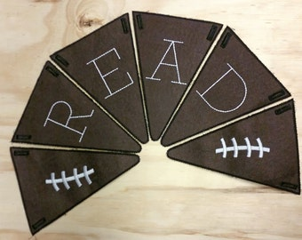 Custom Embroidered Pennants, Sports Name Pennants, Photo Prop Pennants, Party Pennants, Classroom Pennants, Custom Bunting,