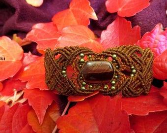 Brown Celtic bracelet