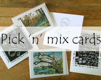 Pick 'n' Mix Cards