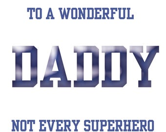 Our Daddy Fathers Day Card