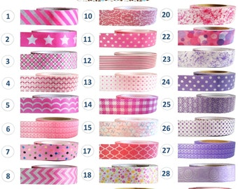 Washi Tape - PINK and PURPLE Collection