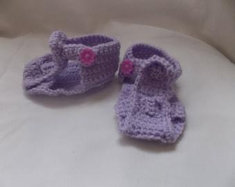 the Sandals purple