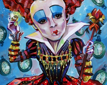 Red Queen Print by Shaunna Peterson