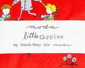 Little Apples charm pack by Aneela Hoey for Moda- OOP- HTF
