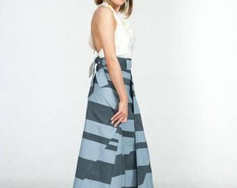Cotton Long Skirt Coolawoola Stardust Wrap Around Waist Skirt Boho style