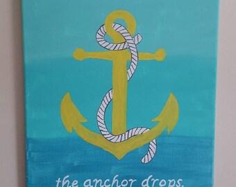 nautical theme home sign,  beachy sign,