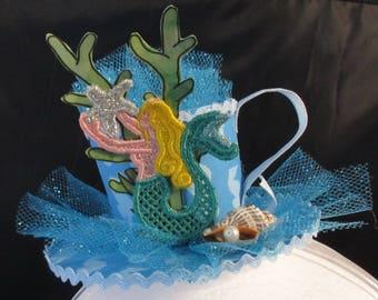 Mermaid Fascinator