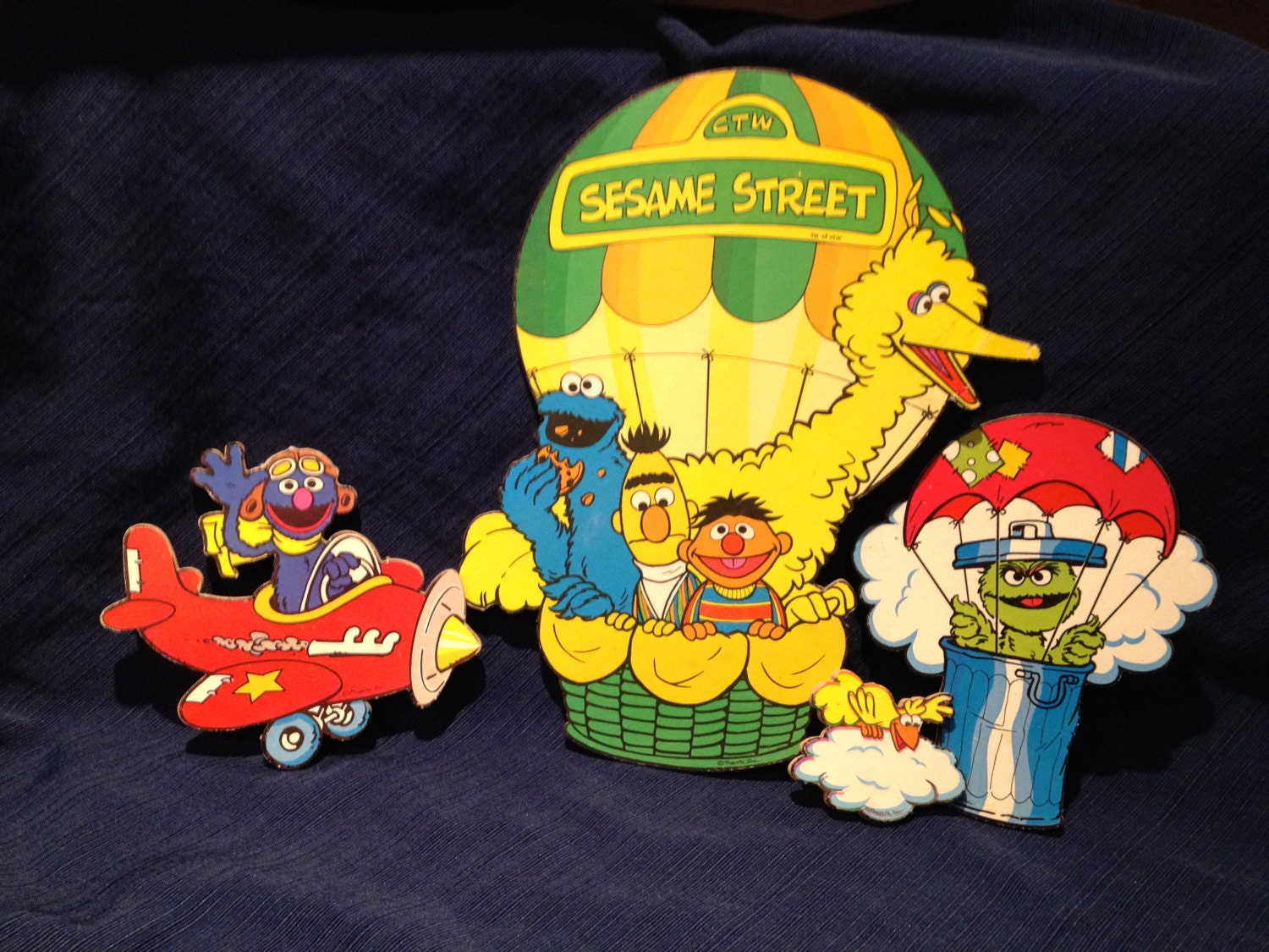 MUPPETS, Sesame Street, Wall Decor, Cookie Cutters, FRAGGLE, Big ...