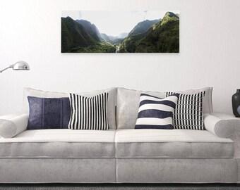 Hawaiian Canvas Print- Large - Iao Valley, Maui, Hawaii