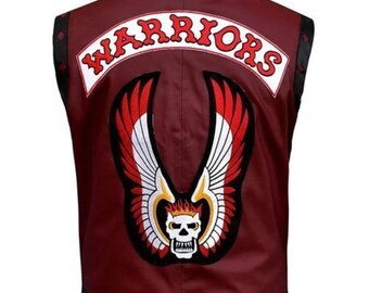 The Warrior Movie Motorcycle Leather Vest - Best For Halloween
