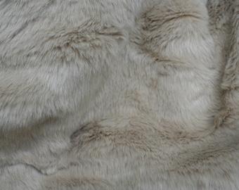 Sandstone rabbit Faux Fur