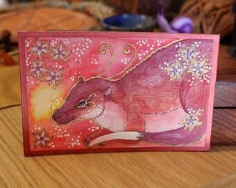 Rose Series - Rakali Magic - Original Art