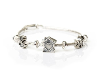 My Small World Charm Bracelet