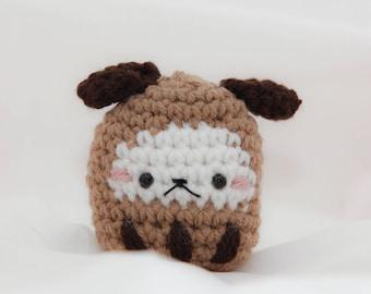 Faithful Dog Zodiac Daruma | Amigurumi Doll