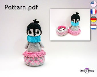 Pattern - Pingo the Pingouin Pot